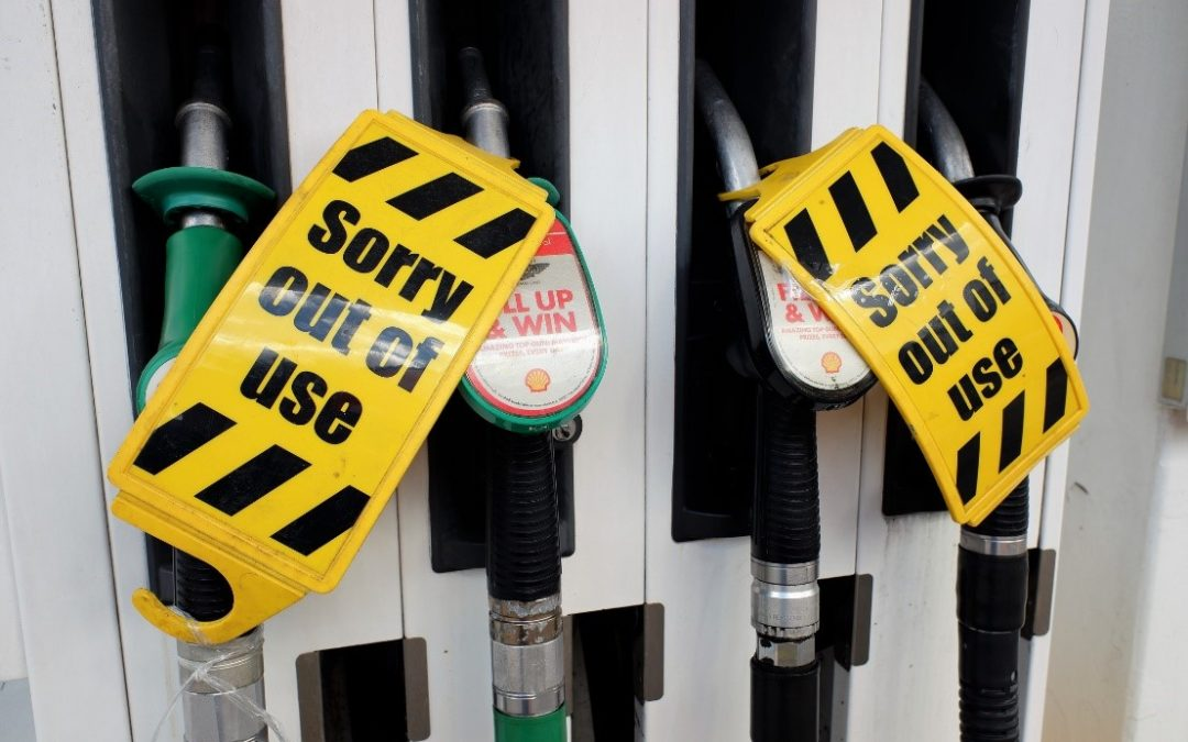"""Fuel pump crisis and the looming """"challenging"""" winter"""
